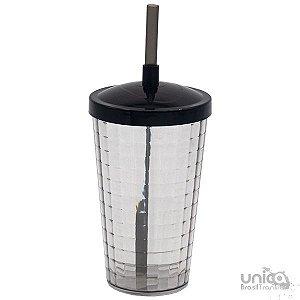 Twister Quadriculado 500ml - Preto