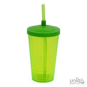 Twister Quadriculado 500ml - Verde