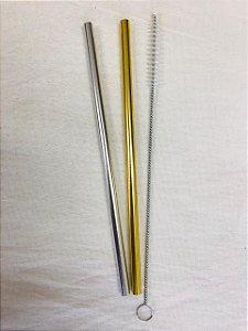 Kit Prata e Dourado 8mm (MilkShake) + Escova Higienizadora