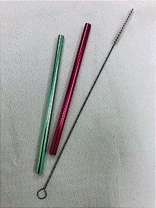 Kit 2 Caipicanudos Candy (Especial para sua Caipirinha) + Escova Higienizadora