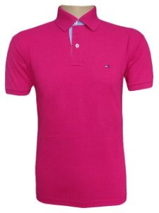 CAMISA POLO TH (UNITÁRIA) - COR ROSA