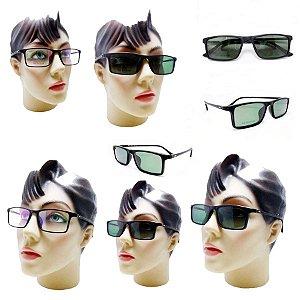 84b41beb08346 Armação Oculos Feminino 2 Em 1 Com Clipon De Sol Polarizado Barato