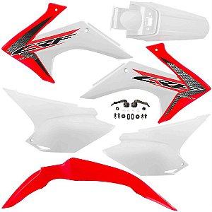 Kit Plástico Avtec Crf 230 2015 - 2018 Original