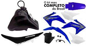 Kit Plastico Crf 230 2018 Protork Adaptável Xr 200 Tornado Azul