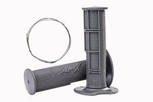 Manopla Pro Amx Flexível Top - Cinza