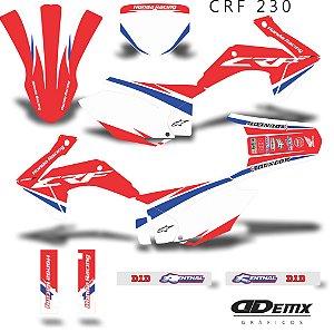 Kit Adesivo 3M HRC Red Crf 230