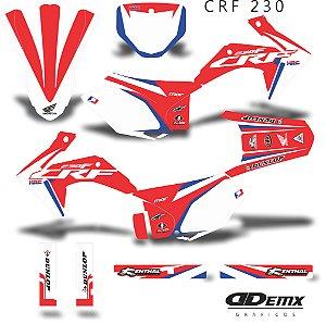 Kit Adesivo 3M Canard Crf 230