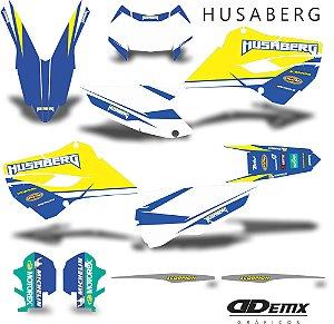 Kit Adesivo 3M Replica Husaberg