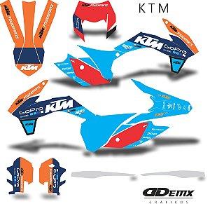 Kit Adesivo 3M ktm factory line