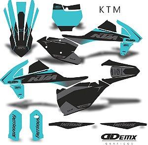 Kit Adesivo 3M KTM TEAL factory