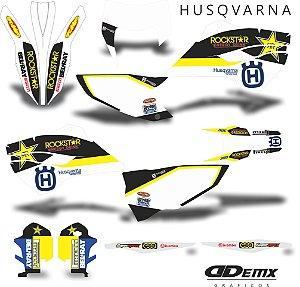 Kit Adesivo 3M husqvarna CHAMPIONS
