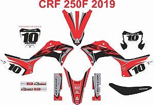 Kit Adesivo 3M CRF 250F Luiz