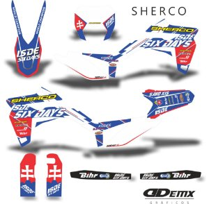 Kit Adesivo 3M Sherco  six day Full