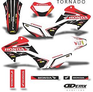 Kit Adesivo 3M tornado HIDDEN HONDA