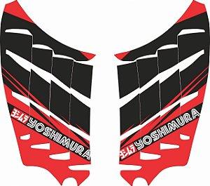 Adesivo de Radiador Yoshimura Para crf 250f Nacional