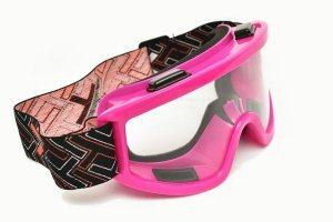 Óculos  Transparente Mattos Racing Rosa