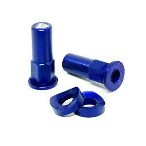 Acabamento trava de pneu - Azul