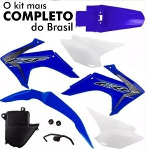 Kit Plástico CRF 230 2008 Até 2018 Pro Tork Azul