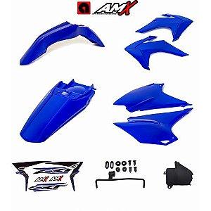 Kit plastico amx crf 230 Azul