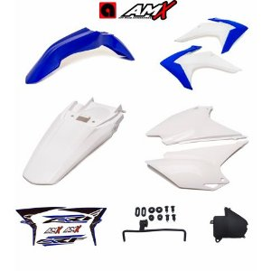 Kit plastico amx crf 230 Azul/Branco