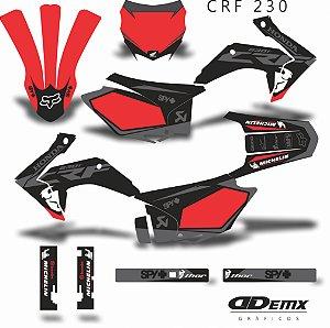 Kit Adesivo 3M -   KIT THOR STALKER RED CRF 230