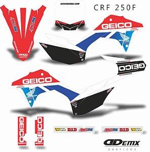 Kit Adesivo 3M GEICO PRIME Crf 250F 2019