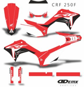 Kit Adesivo 3M  HRC SUPER CROSS Crf 250F 2019​