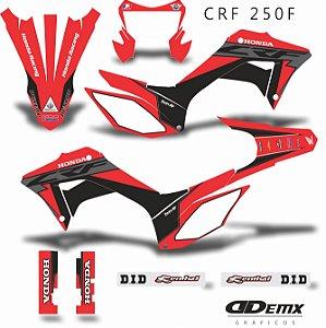 Kit Adesivo 3M RACING RISKY Crf 250F 2019