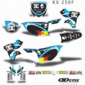 Kit Adesivo 3M ROBBIE MADDISON Kxf 250