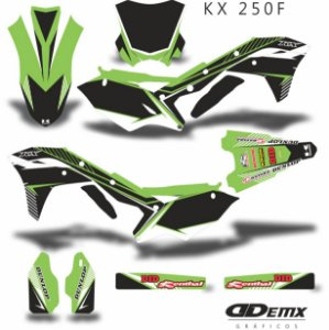 Kit Adesivo 3M MONSTER HIGH Kxf 250