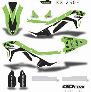 Kit Adesivo 3M SCAR NEW Kxf 250