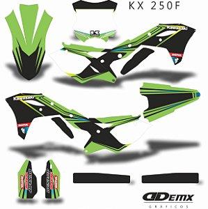 Kit Adesivo 3M GRADIENT RACING Kxf 250