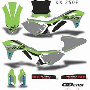 Kit Adesivo 3M BUD RACING PRO Kxf 250