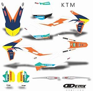 Kit Adesivo 3M ktm STRONG