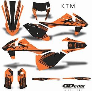 Kit Adesivo 3M ktm TECH RACING