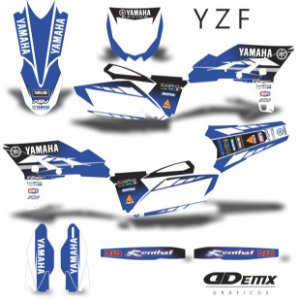 Kit Adesivo 3M YZF  DGR
