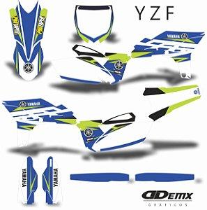 Kit Adesivo 3M YZF   TLC CITRUS