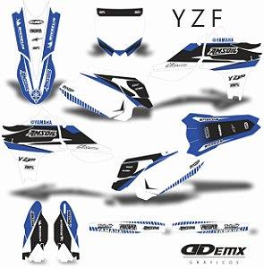 Kit Adesivo 3M YZF AMS CROSS