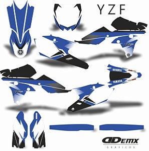 Kit Adesivo 3M  YZF ASHES