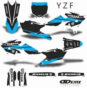 Kit Adesivo 3M  YZF YELLOW DARK