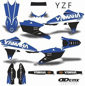 Kit Adesivo 3M  YZF PENRITE BLUE