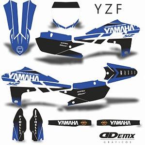 Kit Adesivo 3M YAMAHA PENRITE BLUE