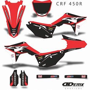 Kit Adesivo 3M Honda SPLIT Crf 250/450R