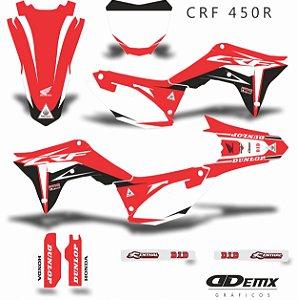 Kit Adesivo 3M Honda SUPER CROSS HRC Crf 250/450R