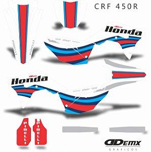 Kit Adesivo 3M Honda RACEWAY For Crf 250/450R