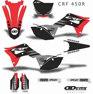 Kit Adesivo 3M Honda THE SCHOURGE Crf 250/450R
