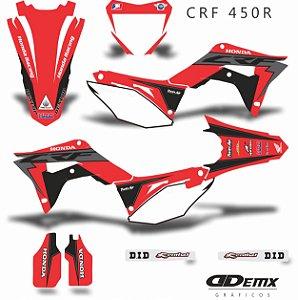 Kit Adesivo 3M Honda RACING RISKY Crf 250/450R