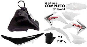 Kit Crf 230 2018 Protork Branco Adaptável Bros - Tornado