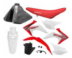 Kit Plastico Crf 230 2018 Protork Adaptável Bros - Xtz