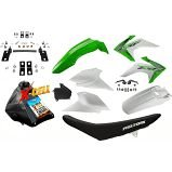 Kit Crf 230 2018 Top Avtec Verde Adaptável Nxr + Ferragens